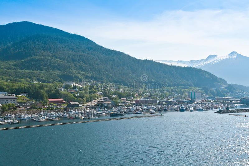 Ketchikan, Аляска стоковые изображения rf