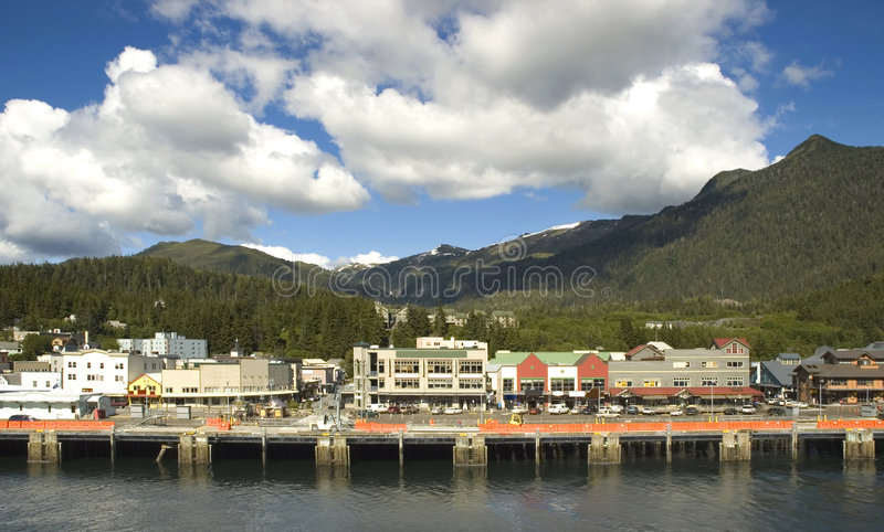 Ketchikan stockfotos