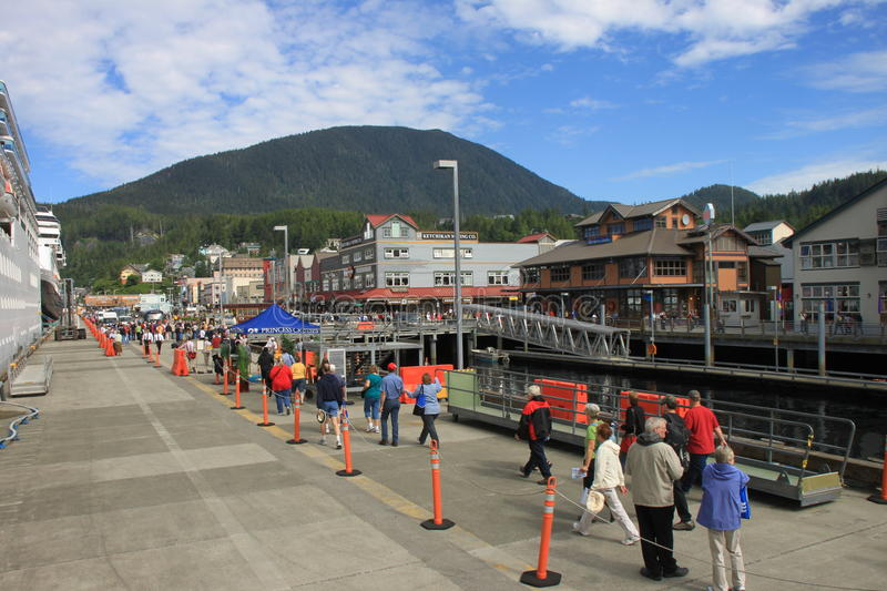 Download Ketchikan editorial stock photo. Image of dock, cruise - 23385603