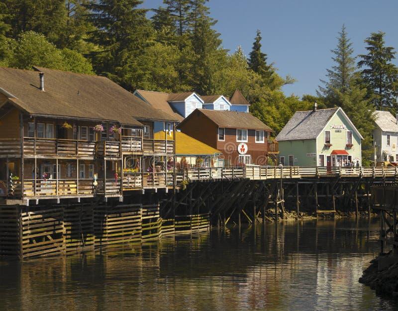 Ketchikan - Alaska fotografía de archivo