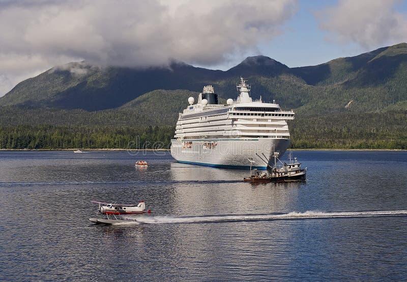 Ketchikan, Alaska foto de archivo libre de regalías