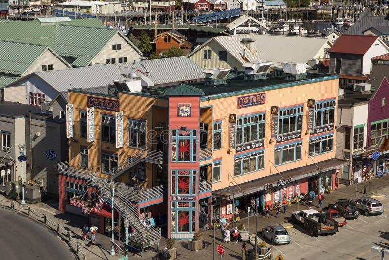Ketchikan, Alaska foto de archivo