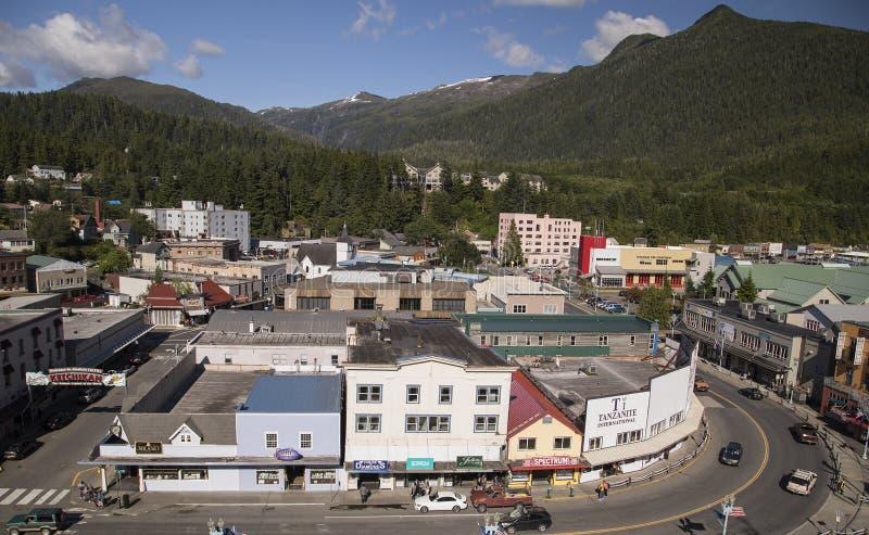 Ketchikan, Alaska fotos de archivo
