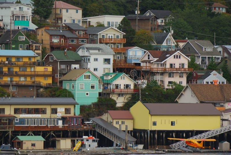 Ketchikan Alaska de V.S. royalty-vrije stock afbeeldingen