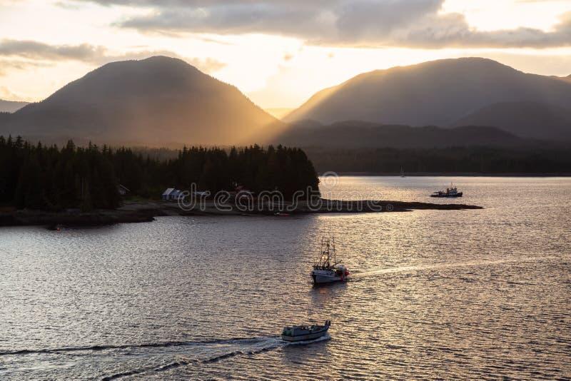 Ketchikan, Alaska, Stati Uniti immagine stock