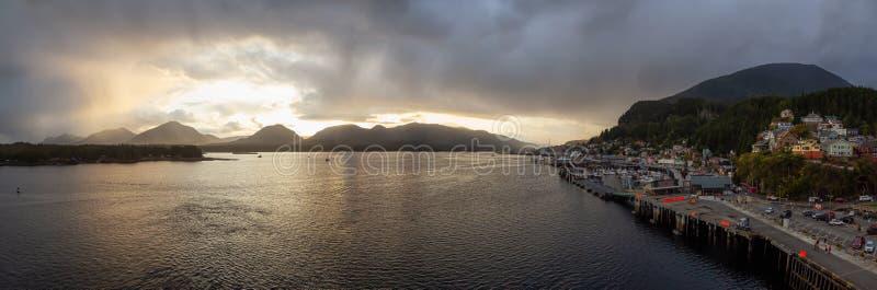 Ketchikan, Alaska, Stati Uniti immagine stock libera da diritti