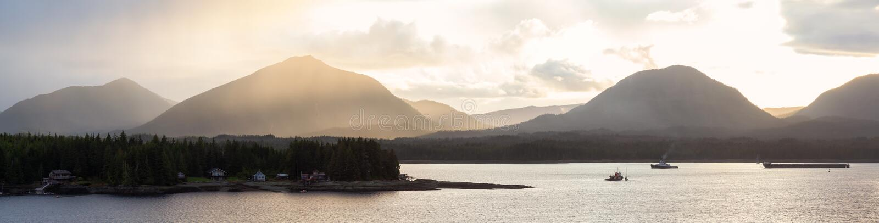 Ketchikan, Alaska, Stati Uniti fotografie stock libere da diritti