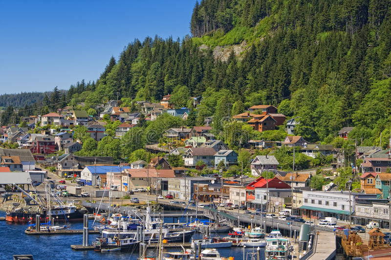 Download Ketchikan, Inside Passage, Alaska Stock Image - Image: 21294773