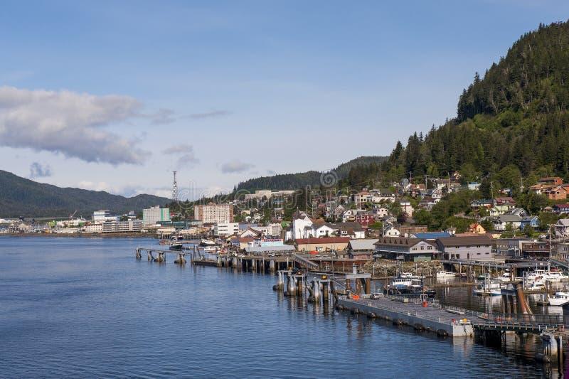 Ketchikan - l'Alaska immagine stock