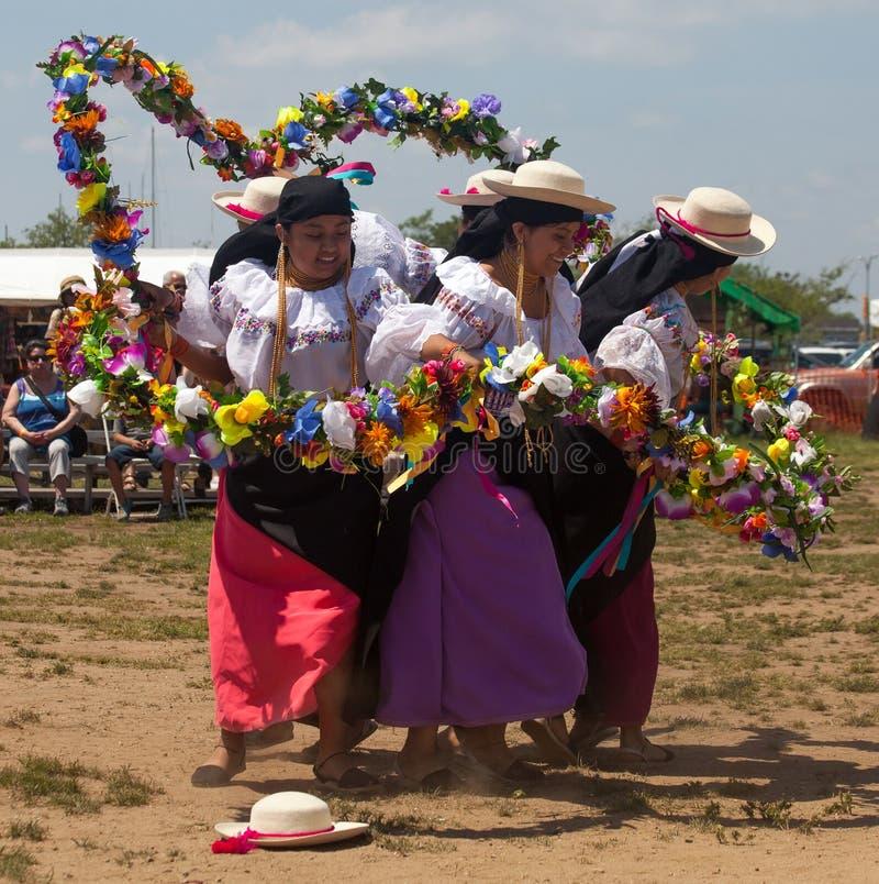 Ketchuan Dancers royalty free stock photos