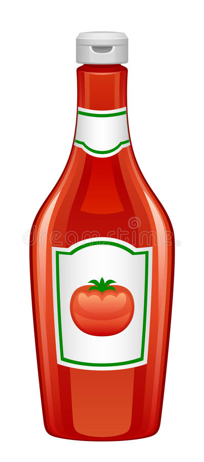 Ketchup ilustracja wektor