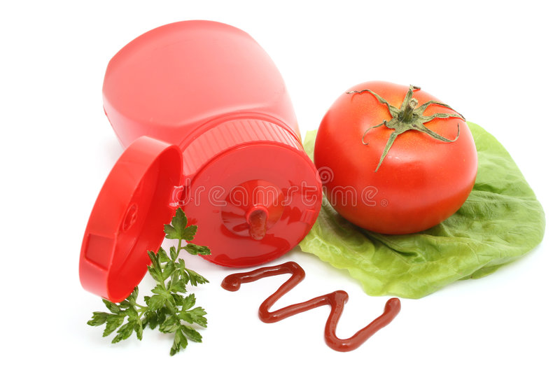 Ketchup royalty free stock photography