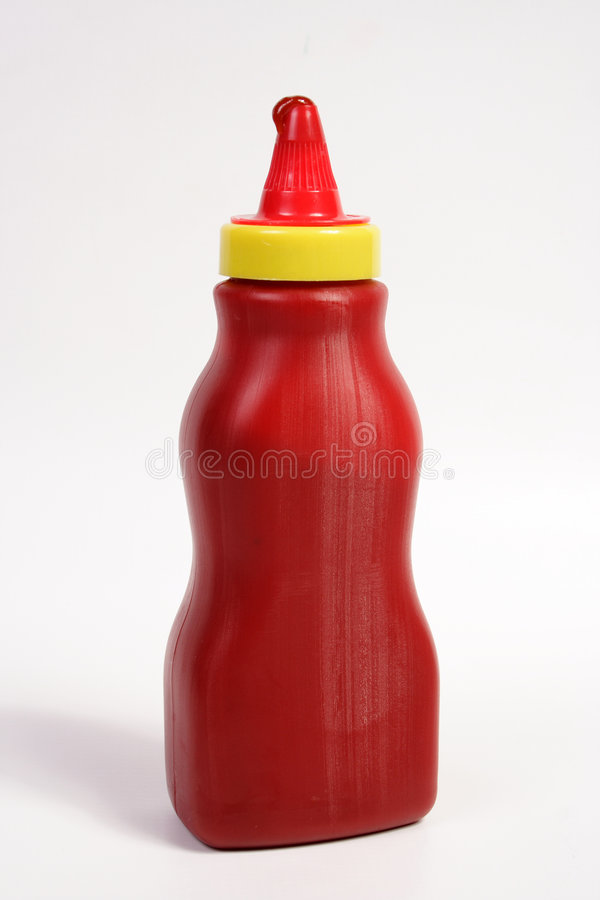 KETCHUP BOTTLE stock images