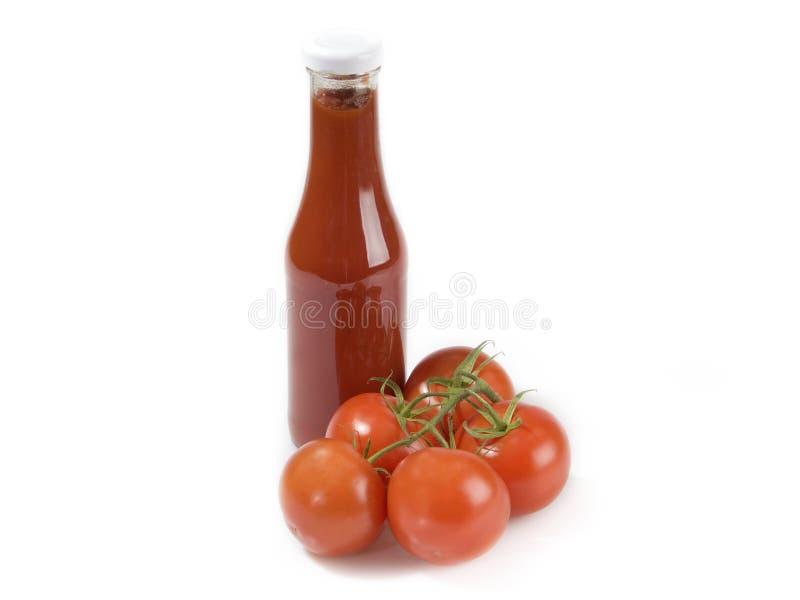 Ketchup de tomate imagens de stock royalty free
