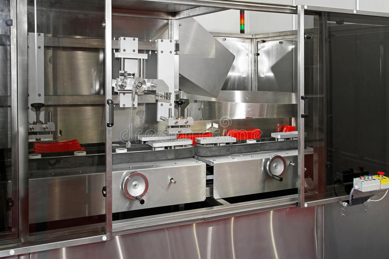 Download Ketchup packaging line stock image. Image of industry - 21079811
