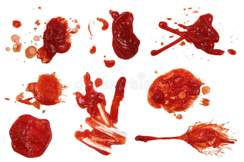Download Ketchup Stain 5 stock photo. Image of serving, splashes - 27961870