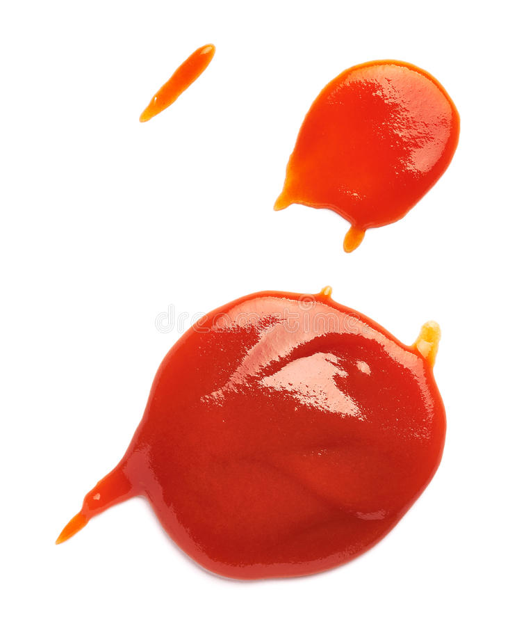 Free Ketchup Stain Fleck Stock Photo - 75607370
