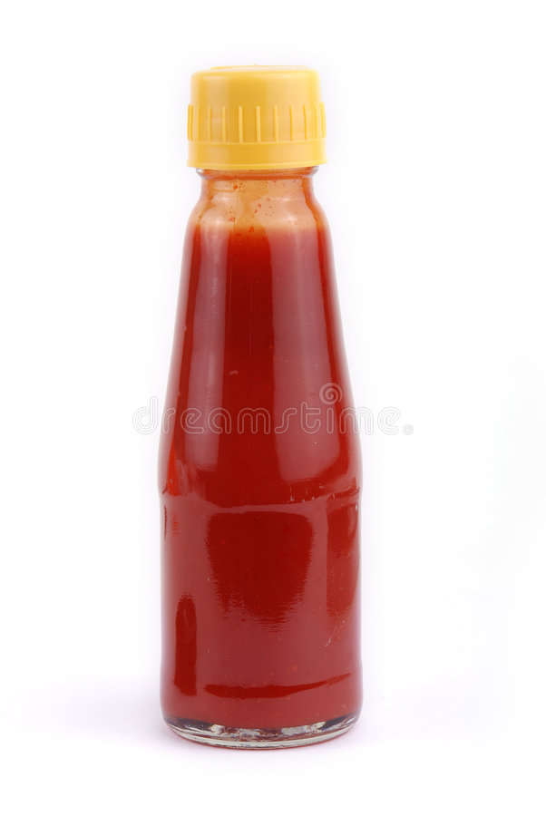 ketchuptomat arkivfoton