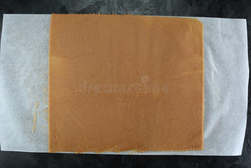 Keto Cinnamon Toast Crunch - met amandelmeel en suikervervanger royalty-vrije stock fotografie