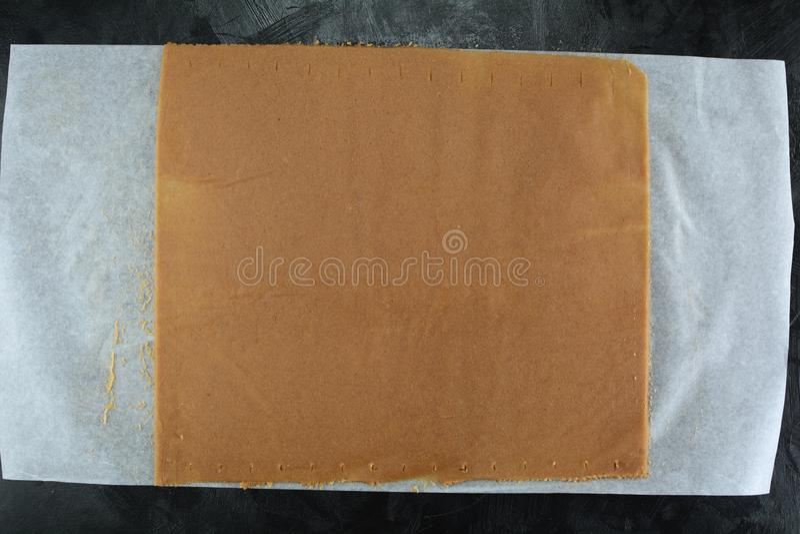 Keto Cinnamon Toast Crunch - z mąką migdałową i substytutem cukru fotografia royalty free