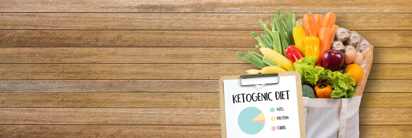 Ketogenic diet Organic grocery vegetables Healthy low carbs. Concept stock image
