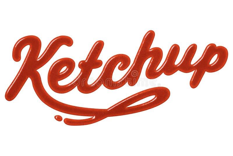 Ketschup lizenzfreies stockbild