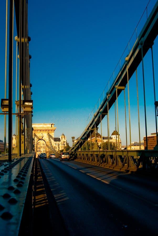 Kettenbrücke lizenzfreie stockbilder