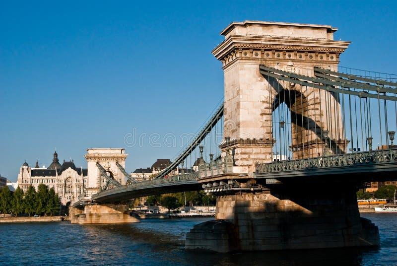 Kettenbrücke stockbilder