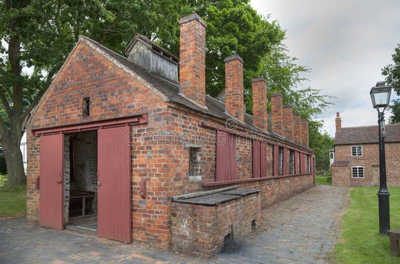 Kettenhersteller Werkstatt, England lizenzfreie stockbilder
