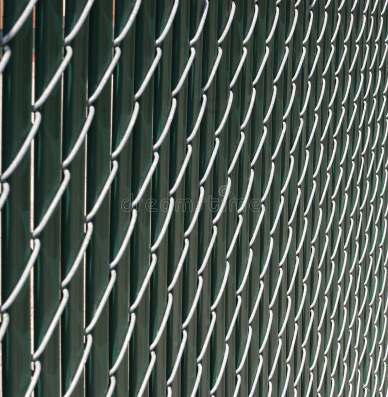 Kettenlink-Zaun lizenzfreies stockbild