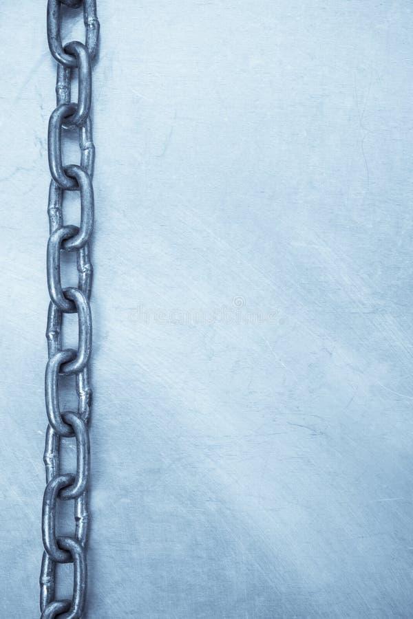 Kettenrahmen Auf Metallbeschaffenheit Stockbild - Bild von aufbau ...