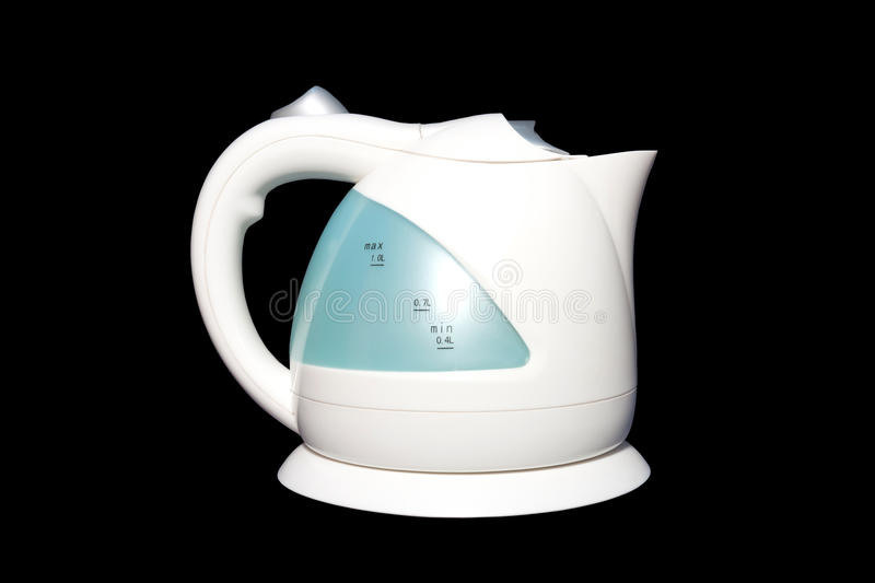 The Kettle. The electric plastic kettle for boiling fresh water.It's easy to use in everywhere stock photos