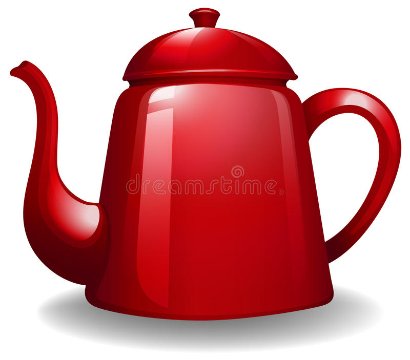 kettle royaltyfri illustrationer
