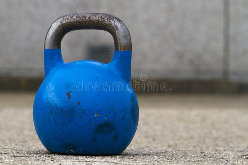 Kettle bell. Used for crossfit training stock photos