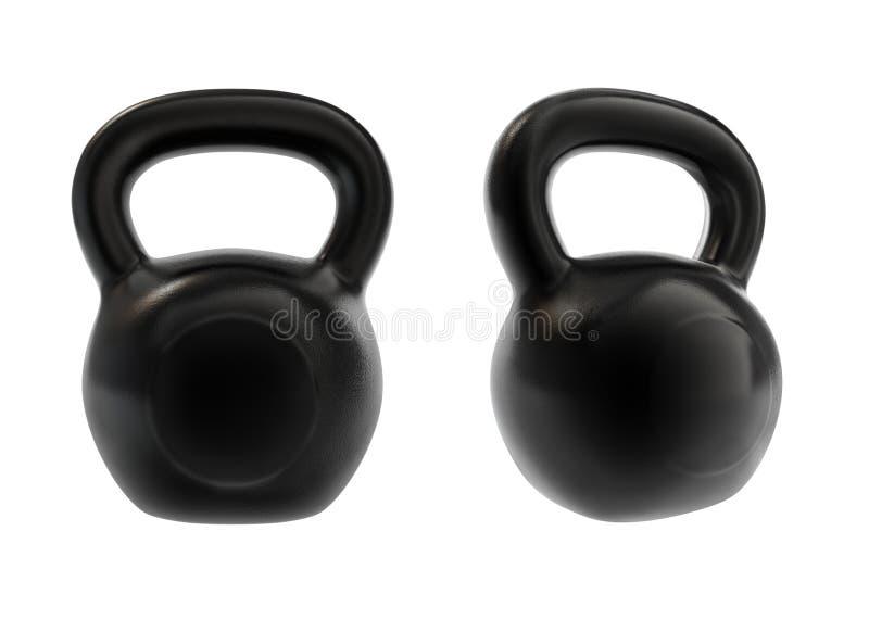 Download Kettle bels stock illustration. Image of iron, equipment - 13892353