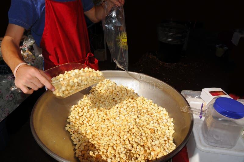 Download Kettle Corn stock photo. Image of worker, popcorn, gourmet - 18662556