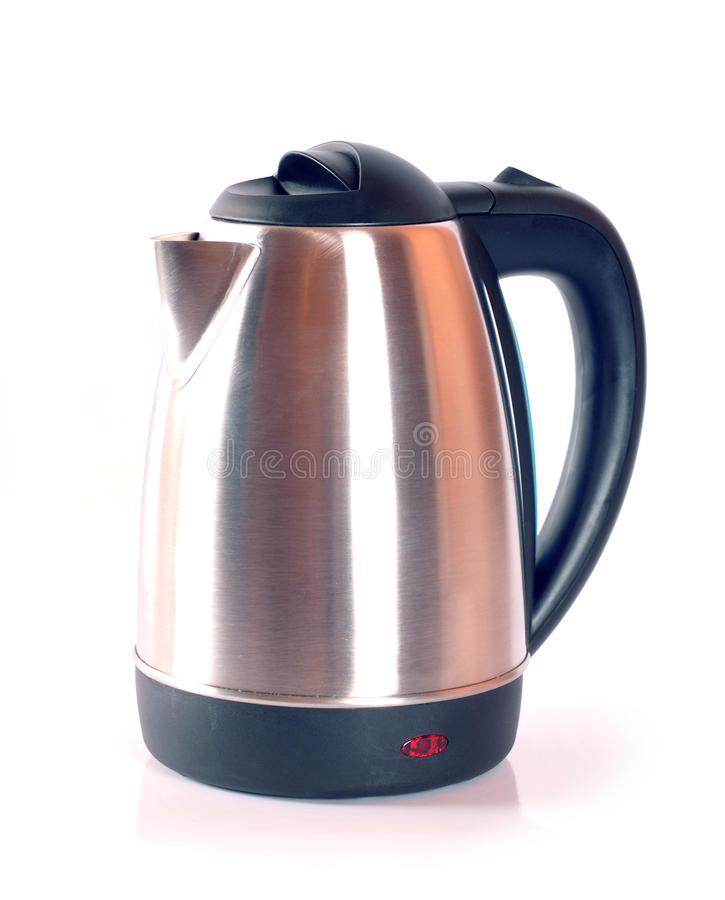 Free Kettle Isolated On White Royalty Free Stock Photo - 23279625