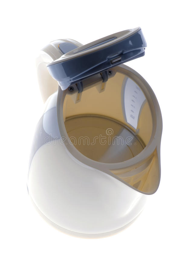 Download Kettle on white background stock photo. Image of utensil - 14854530