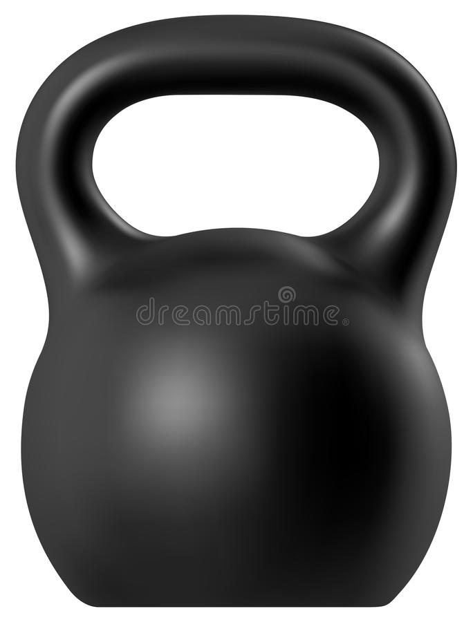 Kettlebell royalty illustrazione gratis
