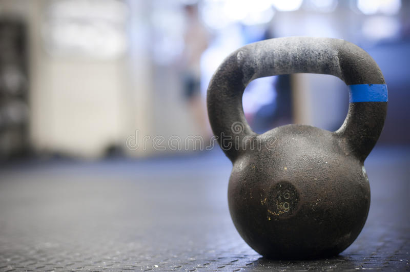 Kettlebell royalty free stock photography