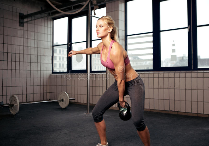 Download Kettlebell Workout Stock Photos - Image: 25317523