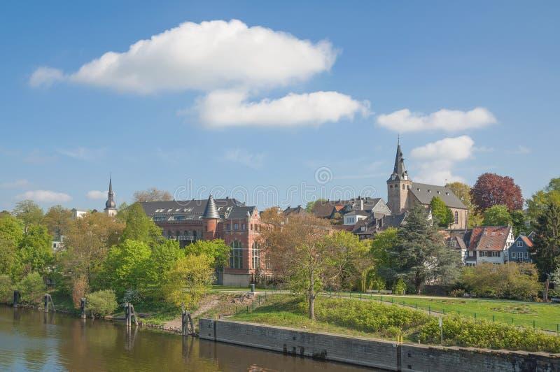 Kettwig dera Ruhr, Ruhrgebiet, Niemcy obrazy royalty free