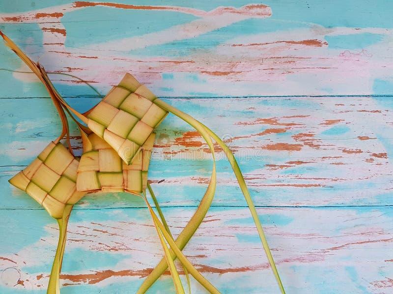 Ketupat malezyjczyka jedzenie obraz royalty free