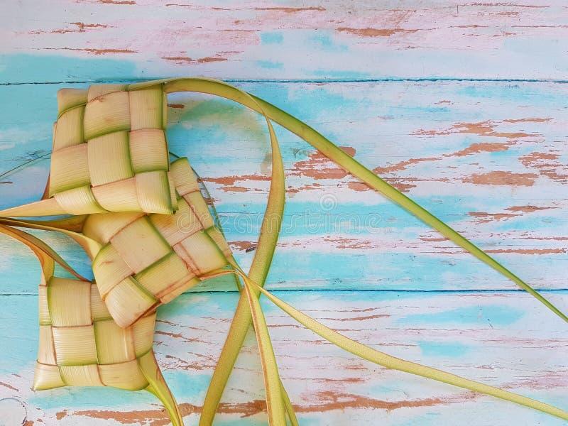 Ketupat malezyjczyka jedzenie zdjęcie stock