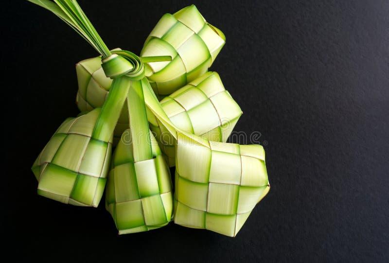 Ketupat stock image