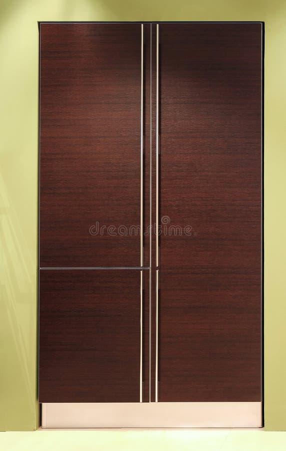 Keuken 1 kabinet stock afbeelding