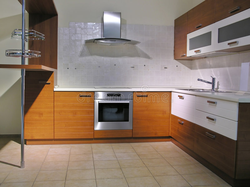 Keuken 4 stock fotografie
