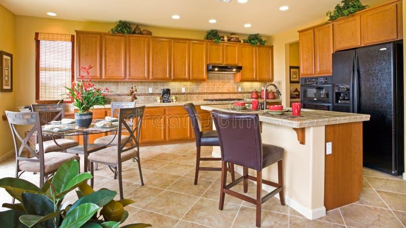 Keuken en Hoekje stock afbeeldingen