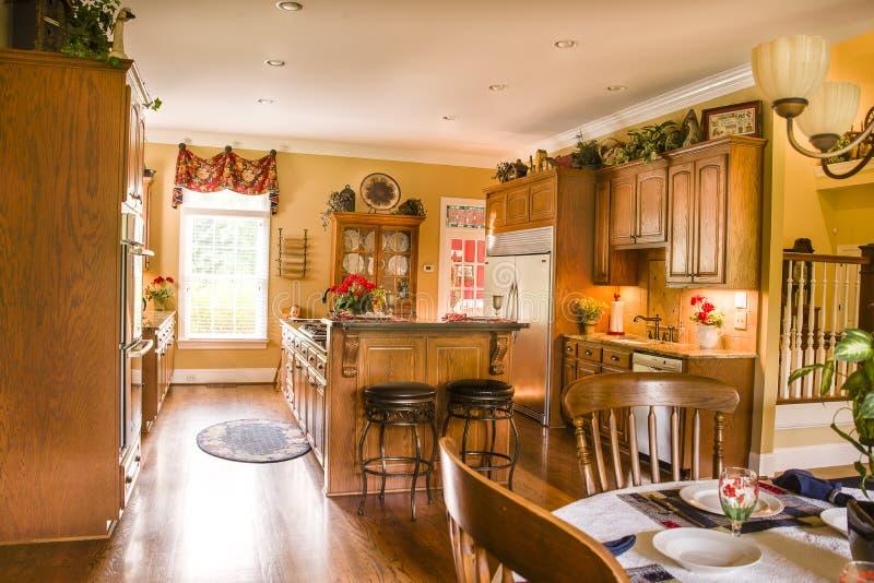 Keuken het Dineren Gebied stock foto