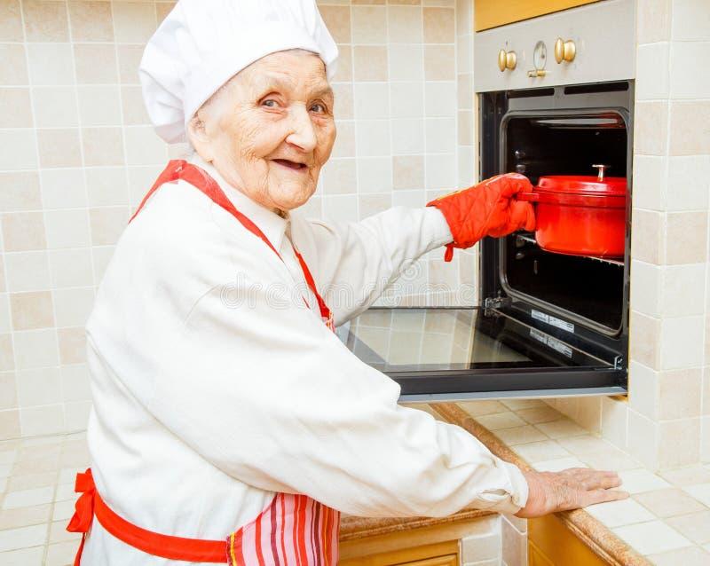 Keukenfee stock foto